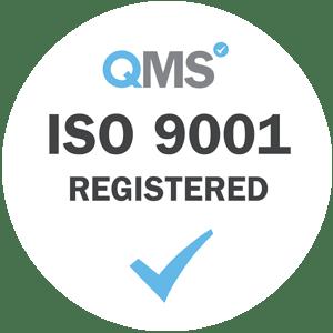 ISO 9001 registered logo