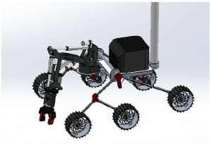 mars rover pegasus robot